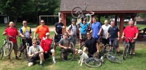 ELLT 2013 mountain biking all